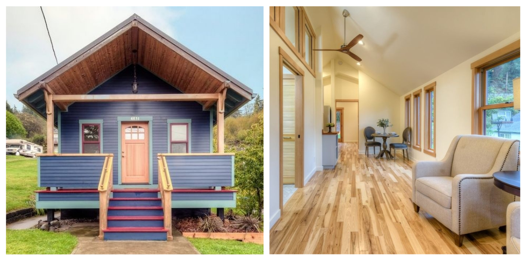 Astoria OR small home for sale