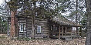 log cabin for sale in Ballwin, MO