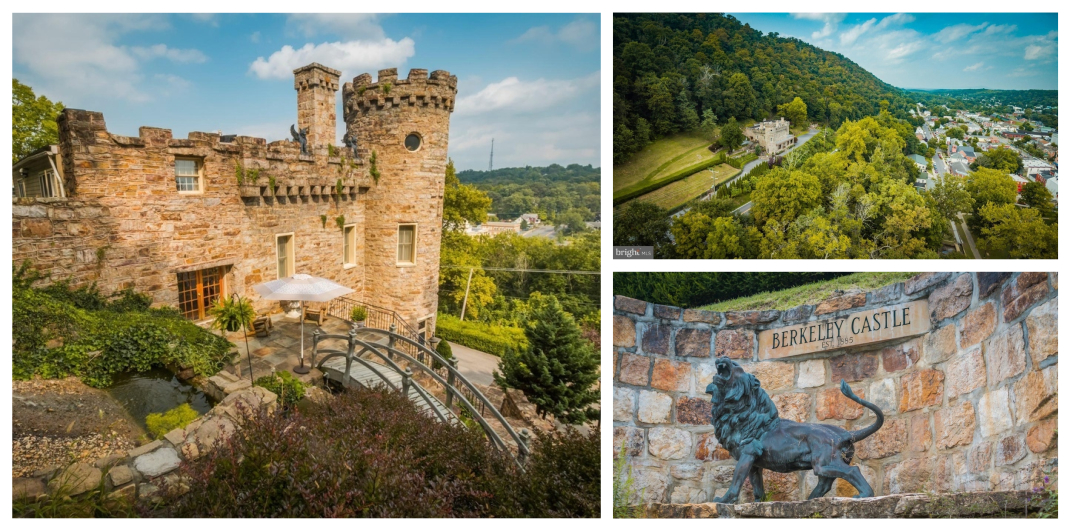 castle for sale in Berkeley Springs WV
