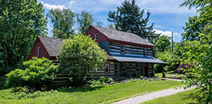 log cabin for sale in Bernville PA