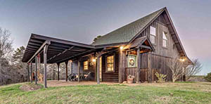 log cabin for sale in Big Sandy TX