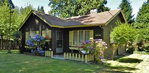 log cabin for sale in Blaine, WA