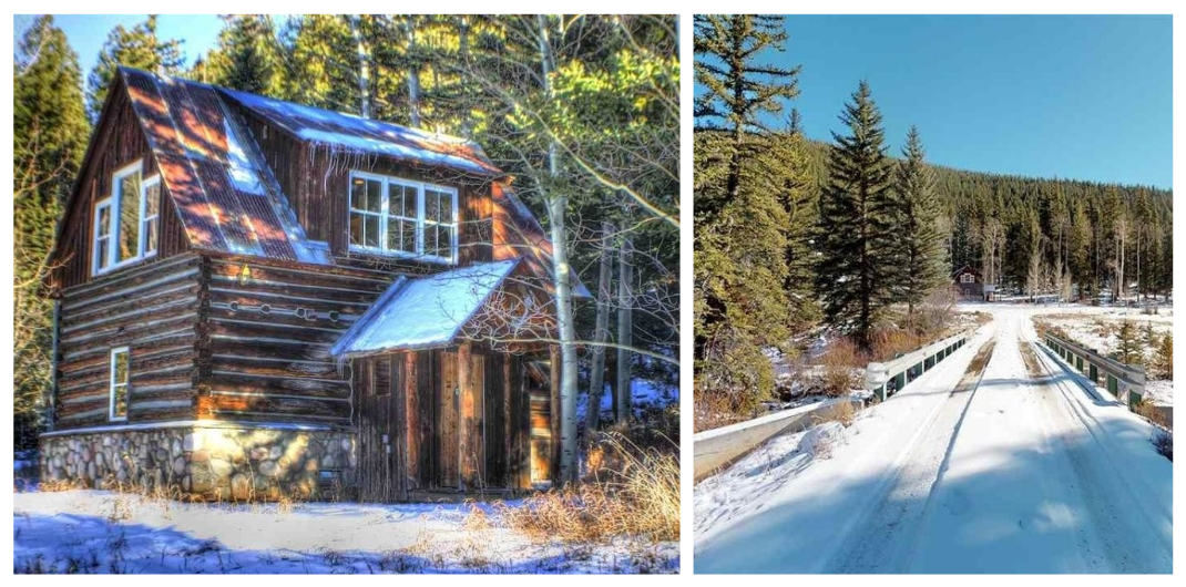Colorado log cabin for sale