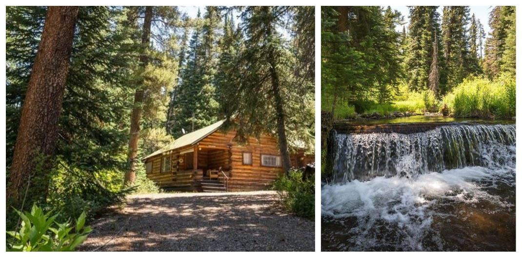 Colorado log cabin for sale