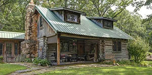 log cabin for sale in conway MO