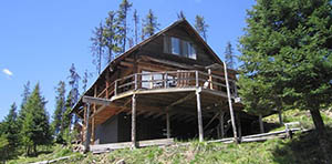 log cabin for sale in Dixie ID