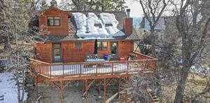 log cabin for sale Fawnskin CA