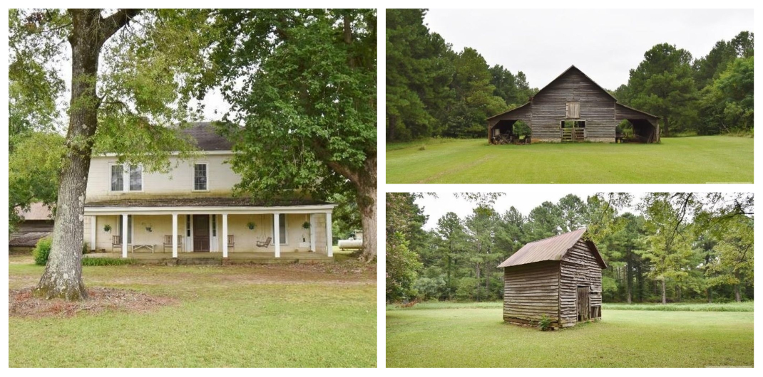 Georgia farmhouse for sale