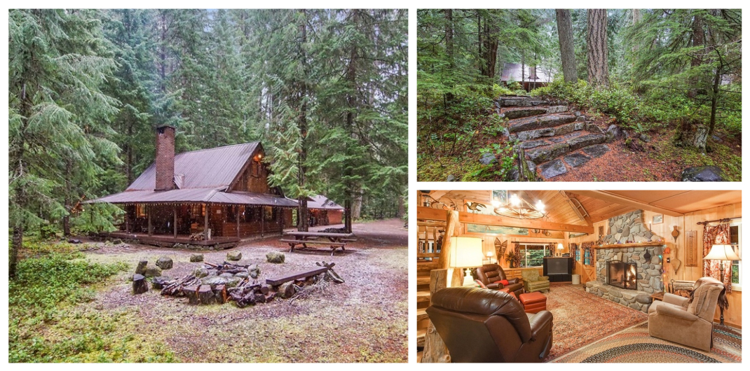 Adorable Log Cabin Getaways For Sale Realestate Com