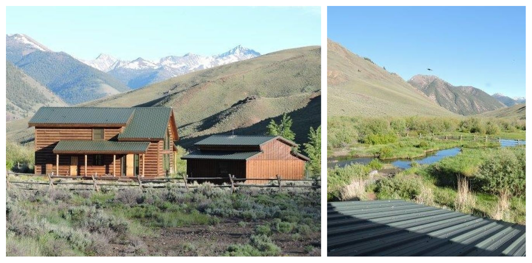 Idaho log cabin for sale