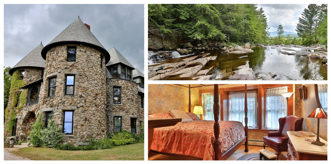 castle for sale in Jackson New Hampshire