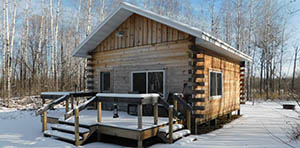 log cabin for sale in Kelliher, MN