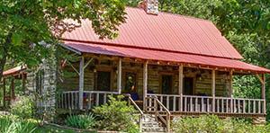 log cabin for sale in Lawrenceburg TN
