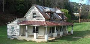 Leicester NC farmhouse for sale