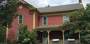 Liberty NC farmhouse for sale