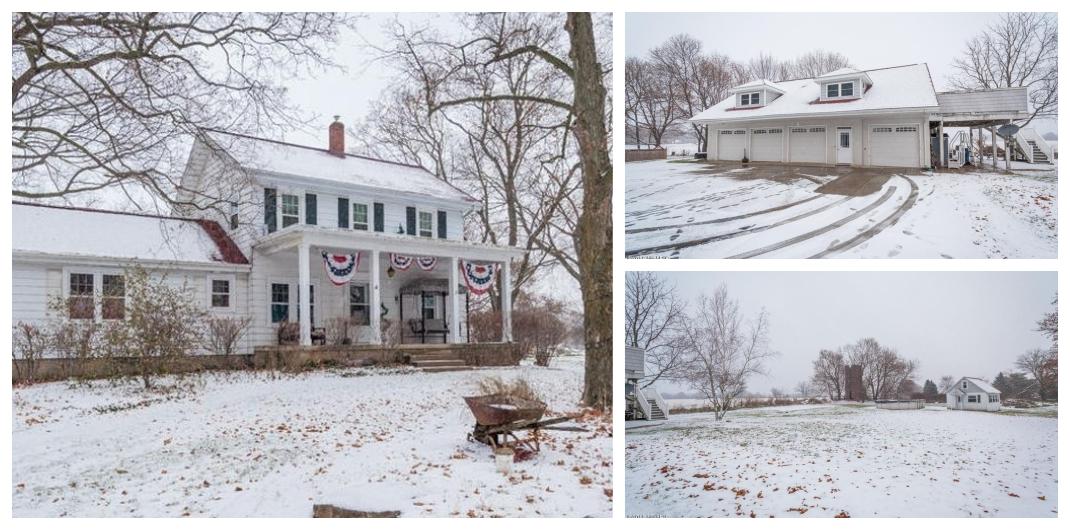 Michigan farmhouse for sale