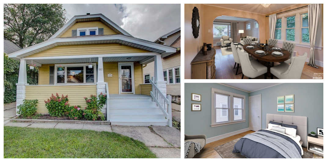 bungalow for sale in Milwaukee, WI