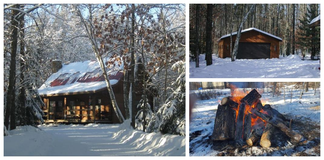 Minnesota log cabin for sale