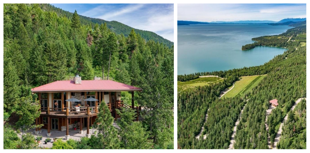 remote montana cabins for sale