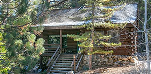 log cabin for sale in Pine Mountain Club, CA
