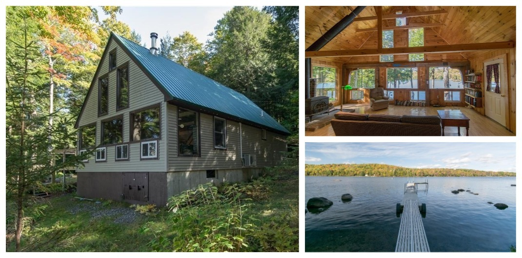 lakehouse for sale in sebec maine