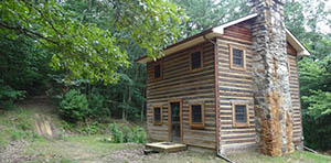 log cabin for sale in sinks grove wv