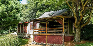 log cabin for sale in Stanley VA