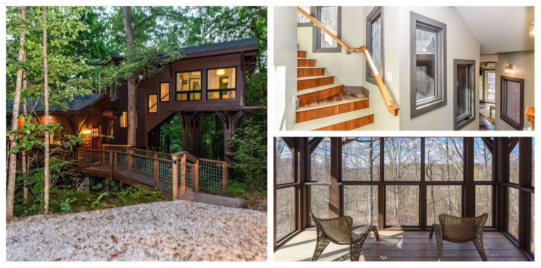 Treehouse for sale in Tennessee