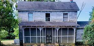 Tyner NC Farmhouse for Sale