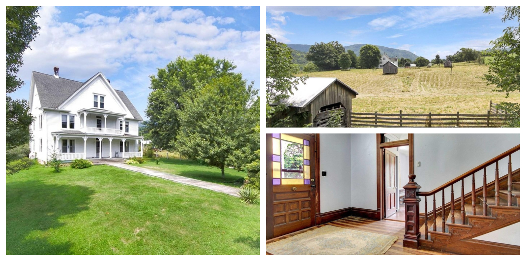 Virginia farmhouse for sale