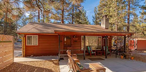 Big Bear Lake CA small home for sale