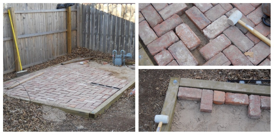 how to repair loose bricks