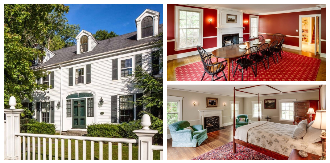 historic home for sale in Camden, Maine