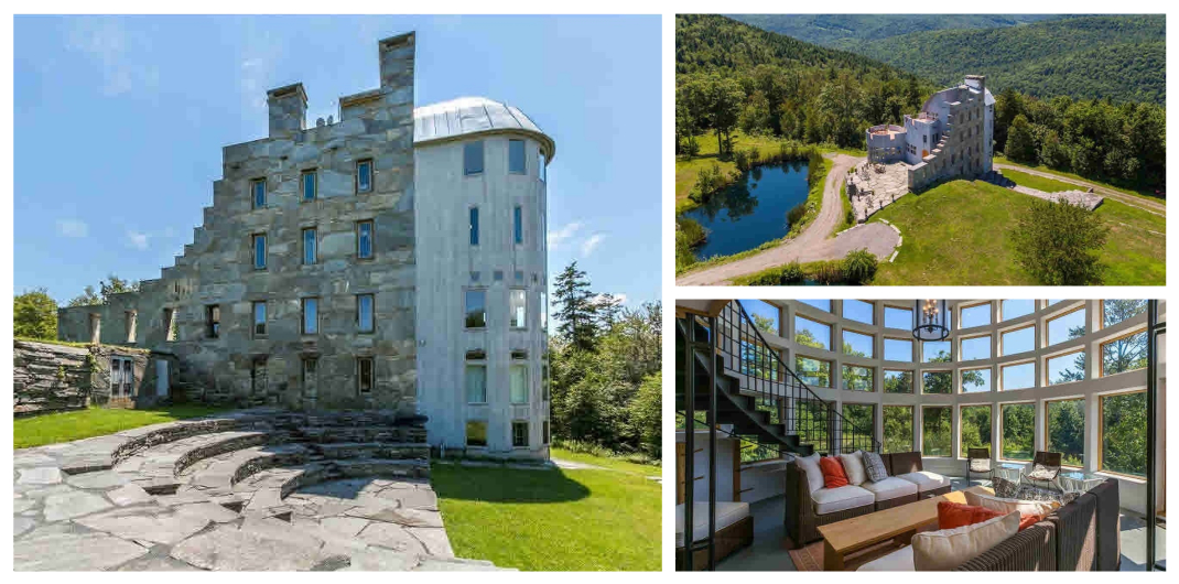 castle for sale in cavendish VT