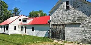 Colebrook NH farmhouse for sale