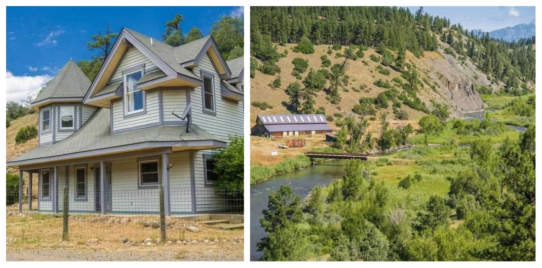 homes for sale in colorado with land