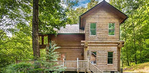 log cabin for sale in cullowhee nc