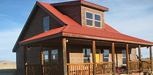 log cabin for sale in del norte co