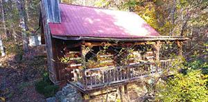 log cabin for sale in del rio TN