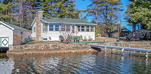 lakehouse for sale in waterboro me