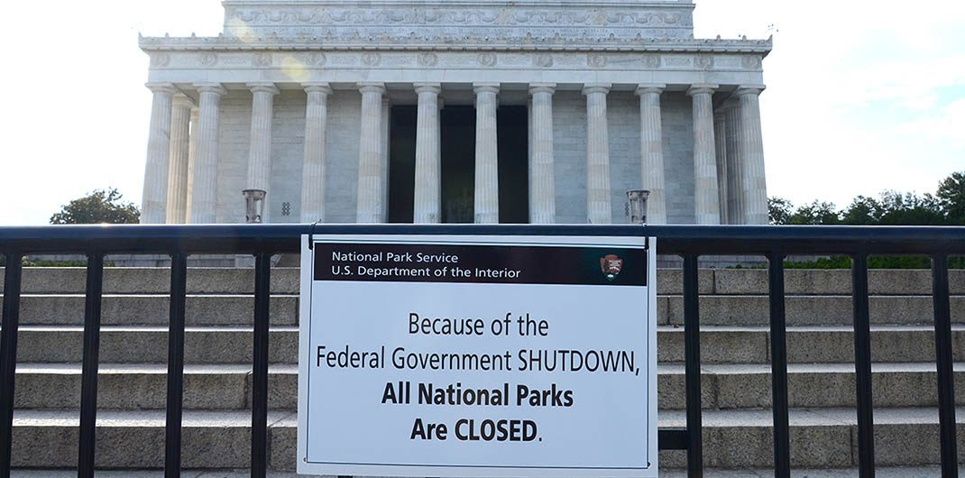 federal government shutdown and late payments