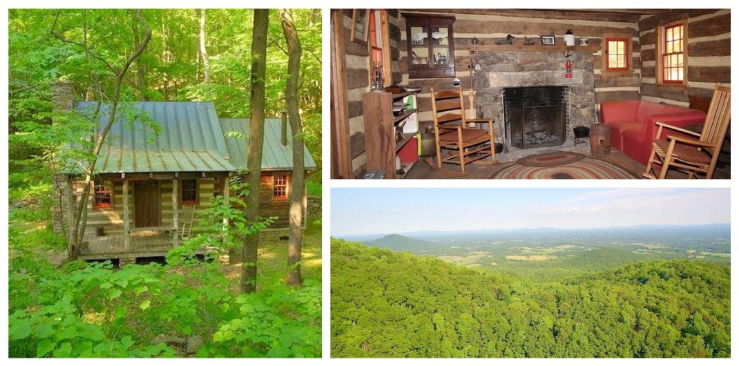 log cabin for sale in free union va