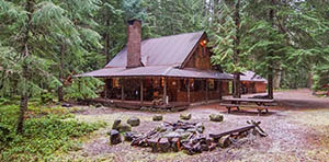 log cabin for sale in greenwater, WA