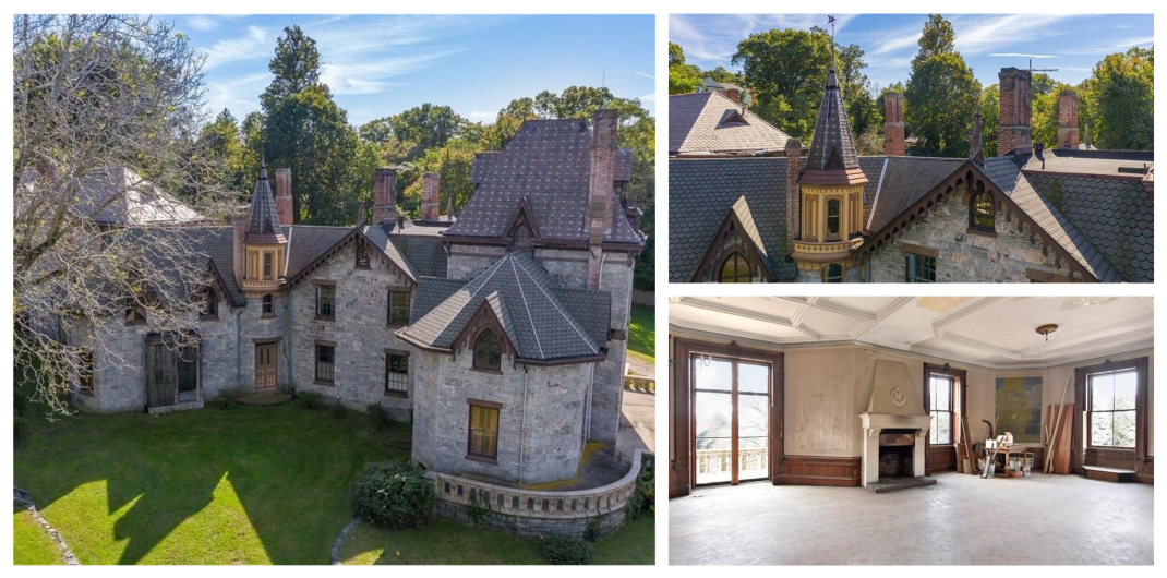 Castle for sale in Irvington NY