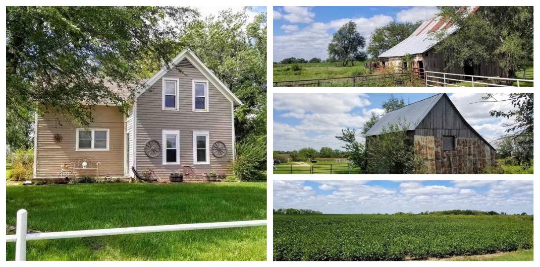 Kansas farmhouse for sale