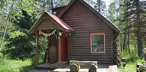 log cabin for sale in McCall ID