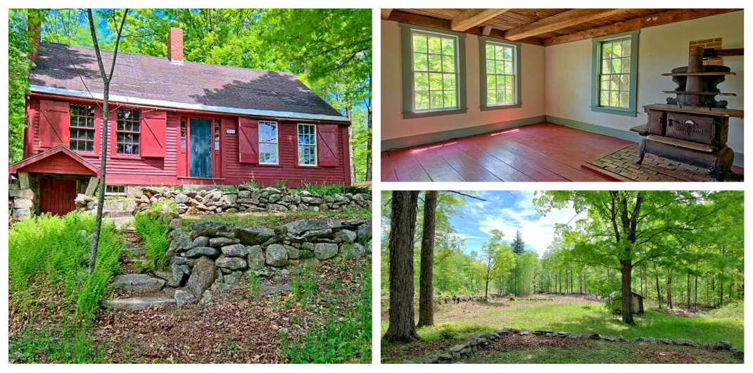 old farmhouse for sale in Vermont