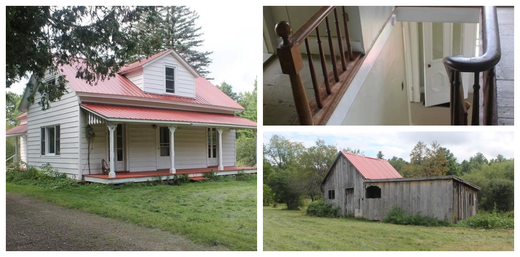 Update New York farmhouse for sale