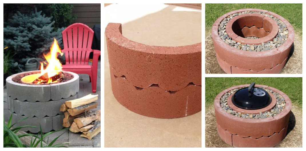 how to make an outdoor firepit