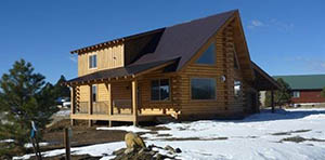 log cabin for sale in pagosa springs co